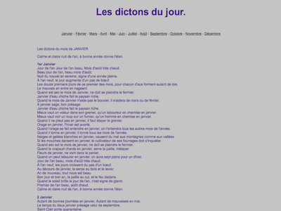 Dictons